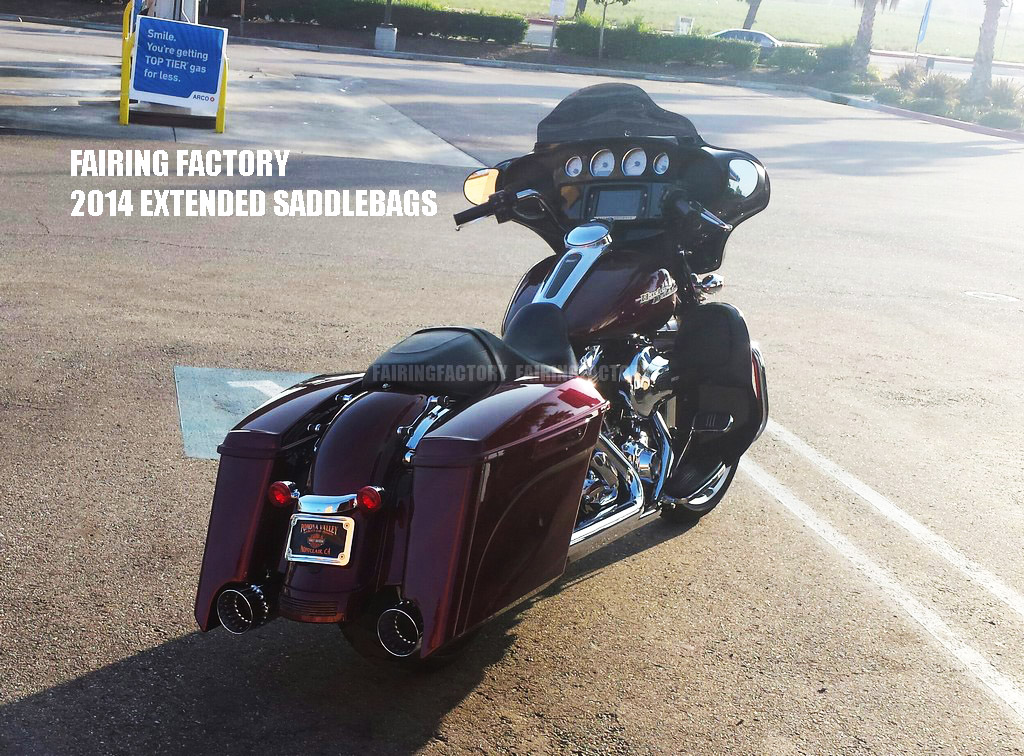2016 Street Glide >> 2014 EXTENDED SADDLEBAGS FOR STREET GLIDE,AWESOME!! | FAIRING FACTORY